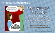 TWO WEEKS 'TIL ONE!!! Comic teaser…check thisout!!!